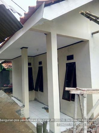 Kegiatan Pembangunan Tahap II Posyandu Kp. Pasir
